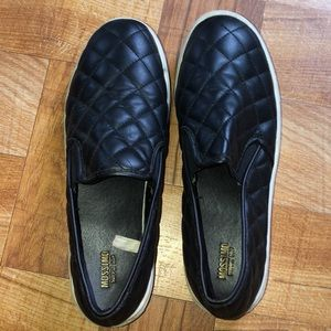 Quilted loafers